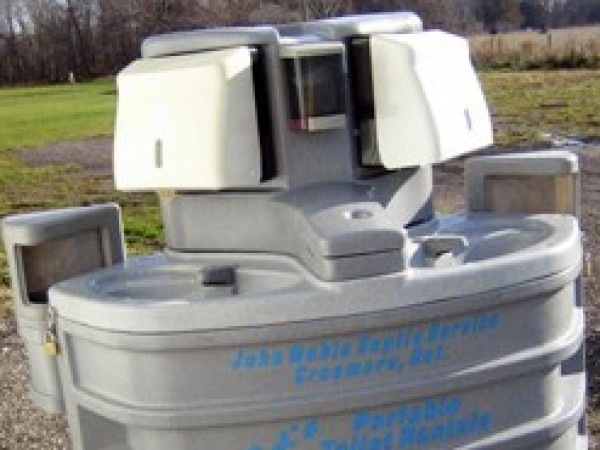 Portable Boat Toilet : Portable rental toilets for events john noble septic