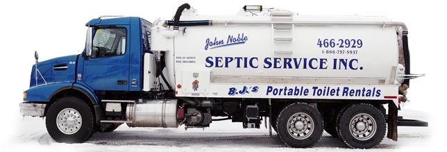 Septic Pumping | John Noble Septic